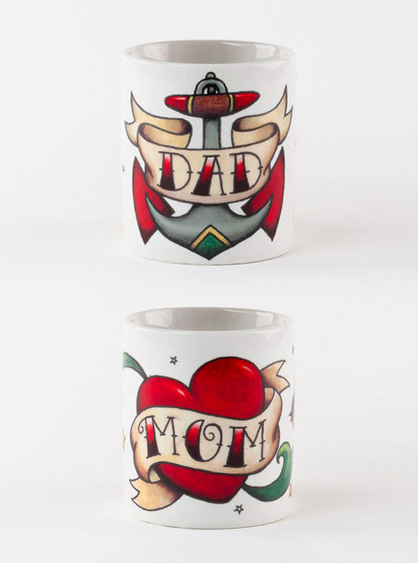 Tattoo Mom/Dad Mug