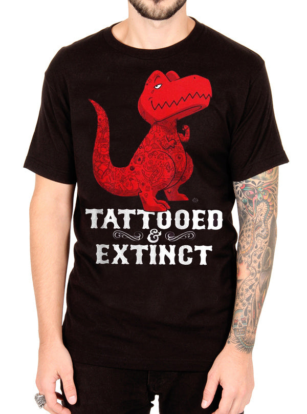 Men's Tattooed Rex Tee by Goodie Two Sleeves