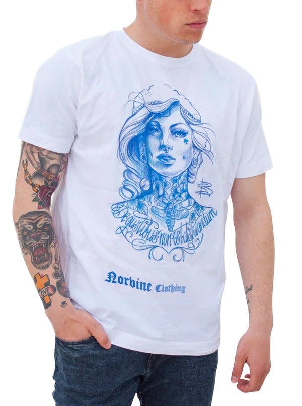 Men's Tattooed Girl Tee by Norvine