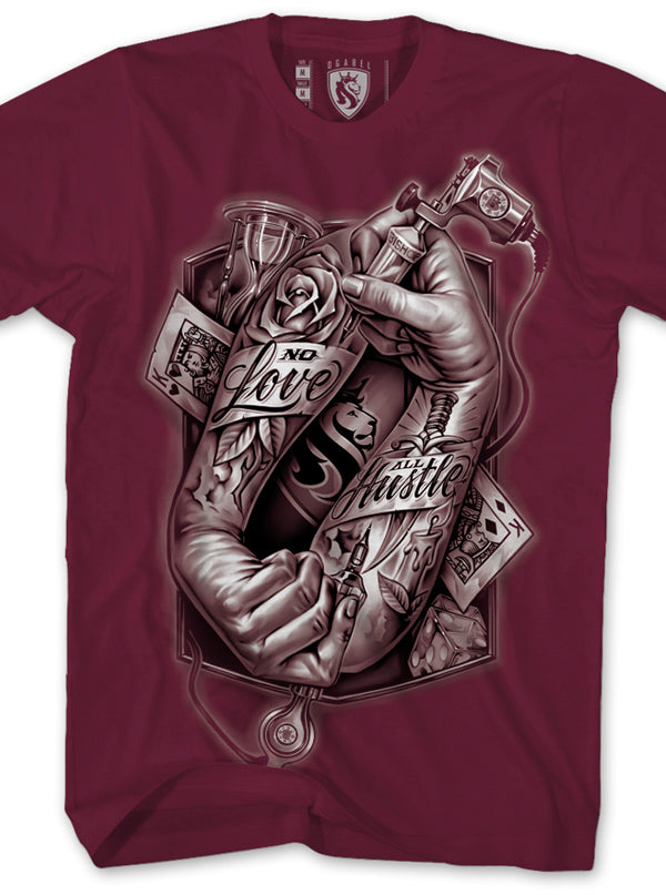 Men's Tattoo Hands 018 Tee by OG Abel