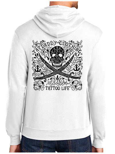 Men's Tattoo Life Hoodie by Tat Daddy
