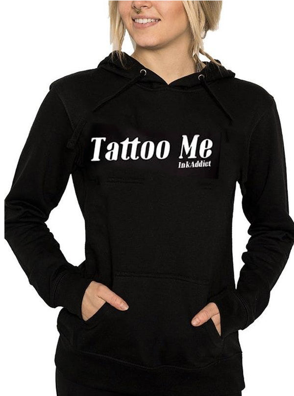 Women's Tattoo Me Hoodie by InkAddict (More Options)