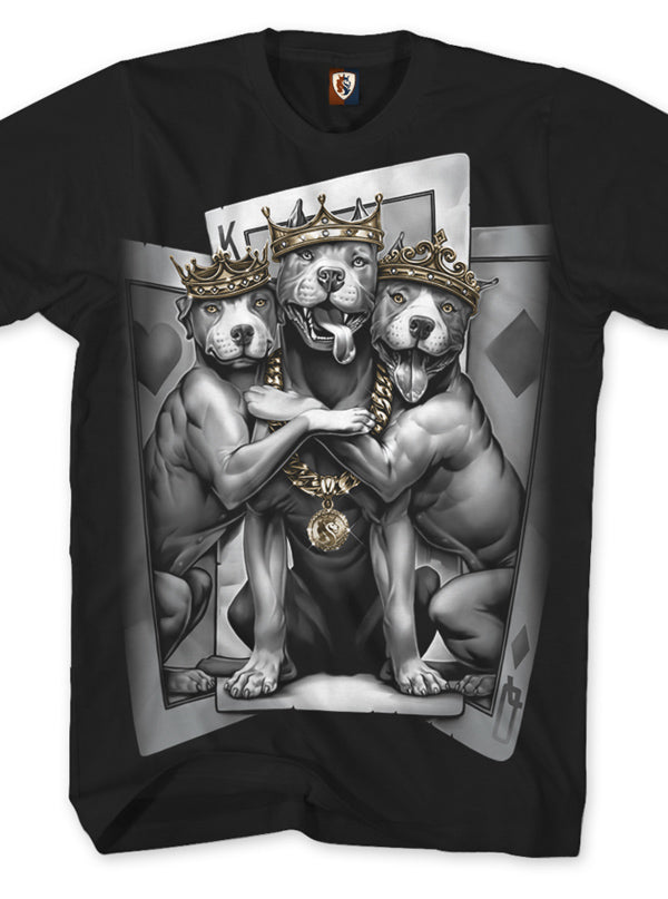 Men's 2 Of A K9 Tee by OG Abel