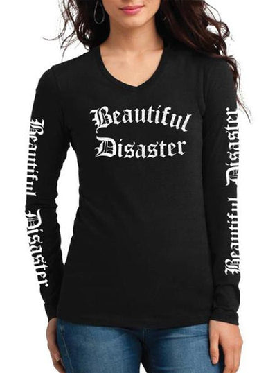 Women's Punk Princess Long Sleeve Tee by Beautiful Disaster
