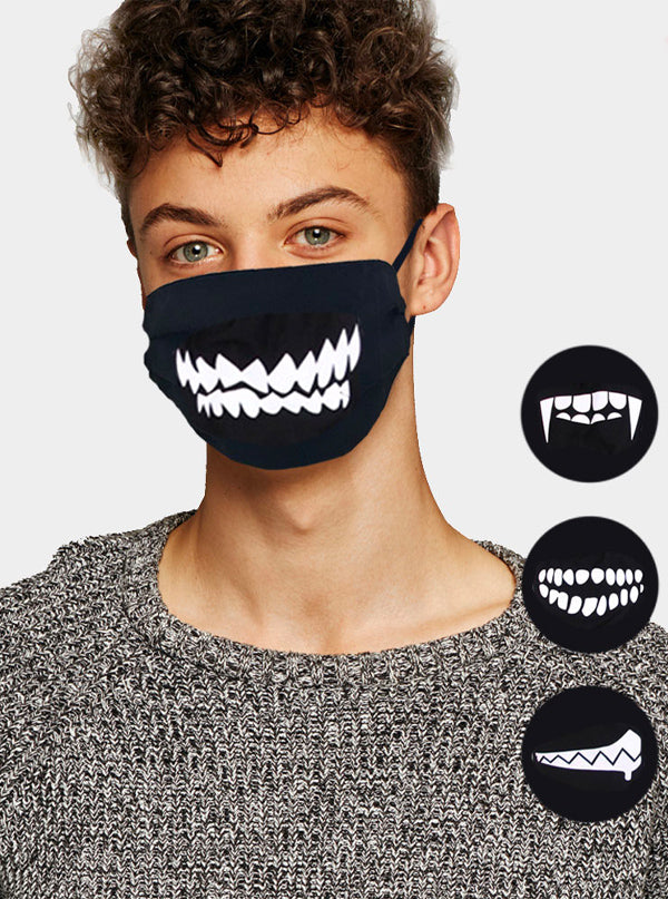 Random Pattern Face Mask
