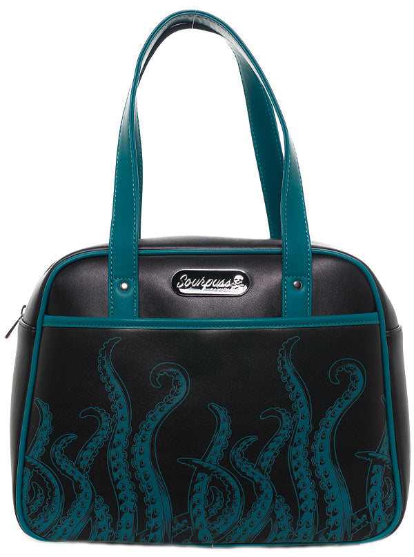 Tentacles Bowler Bag by Sourpuss