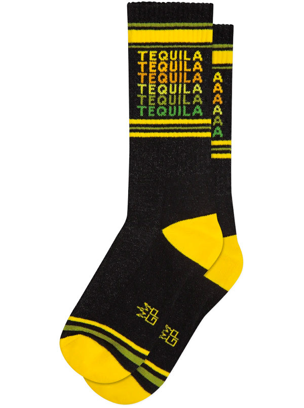 Unisex Tequila Ribbed Gym Socks