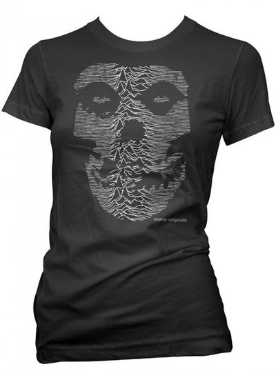 "Women's ""The Unknown Ghost"" Tee by Aesop Originals (Black) - www.inkedshop.com"