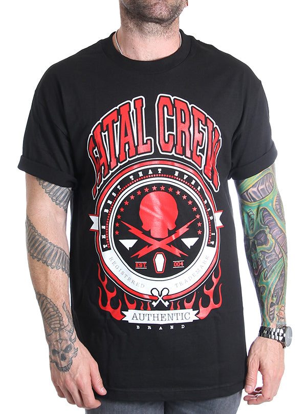 "Men's ""The Best"" Tee by Fatal Clothing (Black)"