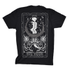 Unisex The Moon Tarot Card V2 Tee by Ghost and Darkness
