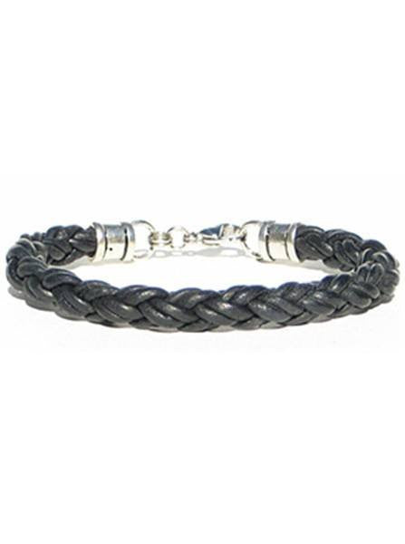 Thick Leather Rope Bracelet by Lucky Dog Leather (Multiple Colors) - InkedShop - 1