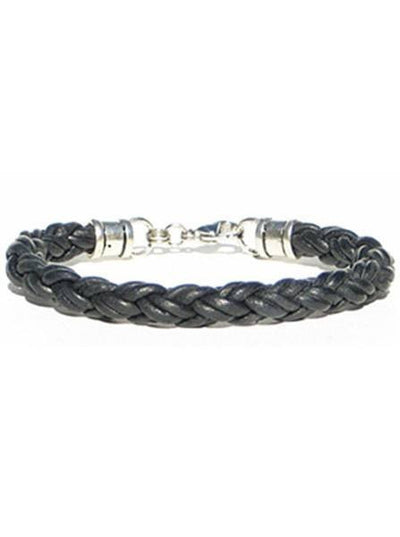 Thick Leather Rope Bracelet by Lucky Dog Leather (Multiple Colors) - InkedShop - 3
