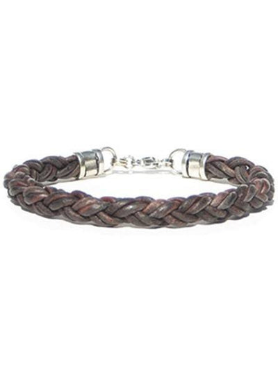 Thick Leather Rope Bracelet by Lucky Dog Leather (Multiple Colors) - InkedShop - 2