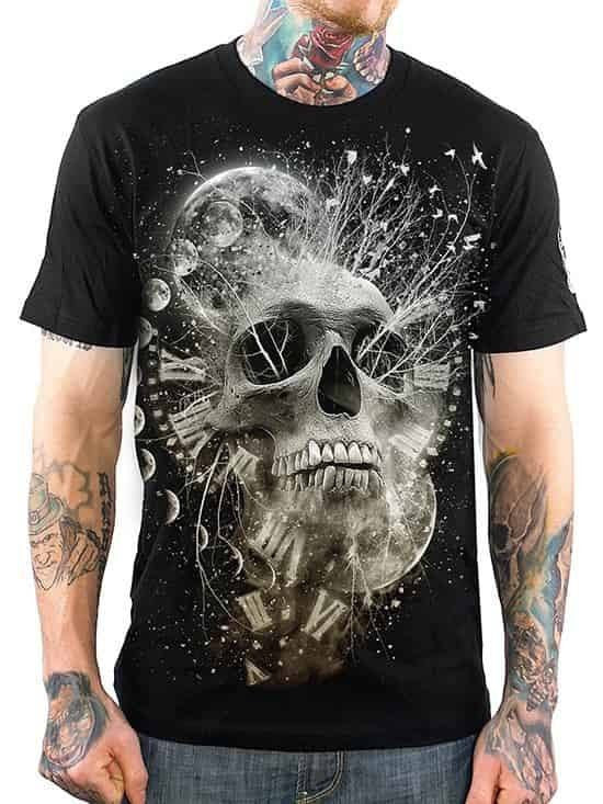 "Men's ""Thoughtless"" Tee by Skygraphx (Black) - www.inkedshop.com"