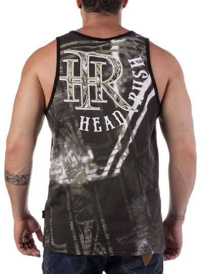 Men's Dark Throne Tank by Headrush Brand