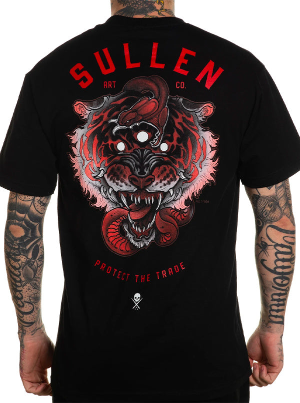 Men's 3 Eye Tiger Tee by Sullen