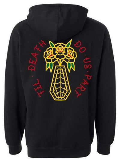 Men's Til Death Throwback Hoodie by InkAddict