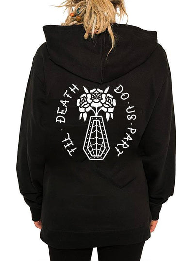 Unisex Till Death Hoodie by InkAddict