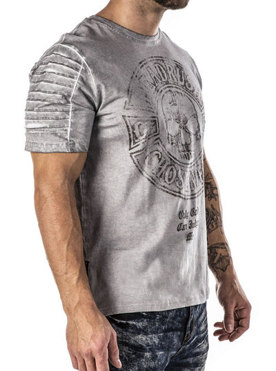 Men's First Timers Biker Tee by Headrush Brand