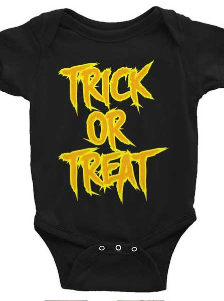 Infant's Trick or Treat Onesie