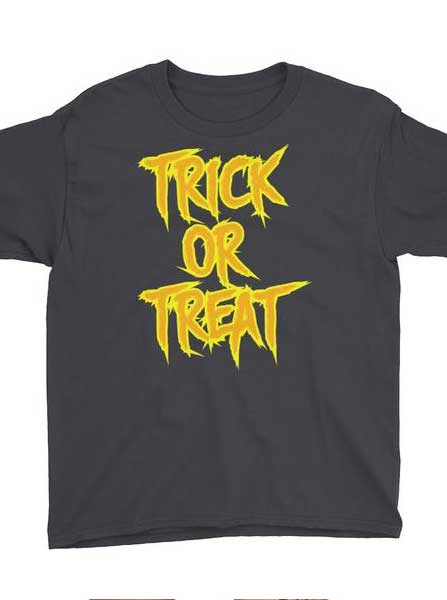 Kid's Trick or Treat Tee