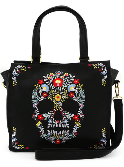 Floral Skull 2018 Tote by Loungefly