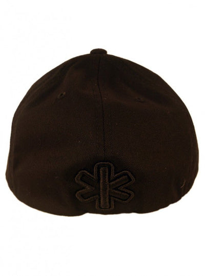 """Traditional"" Flexfit Fitted Hat by Fukitt Clothing (Black/Black) - www.inkedshop.com"
