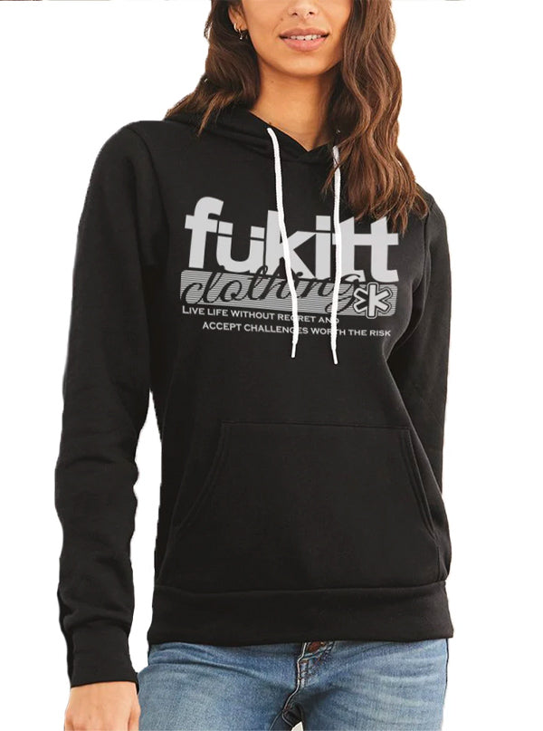 Women's Traditional Hoodie by Fukitt Clothing