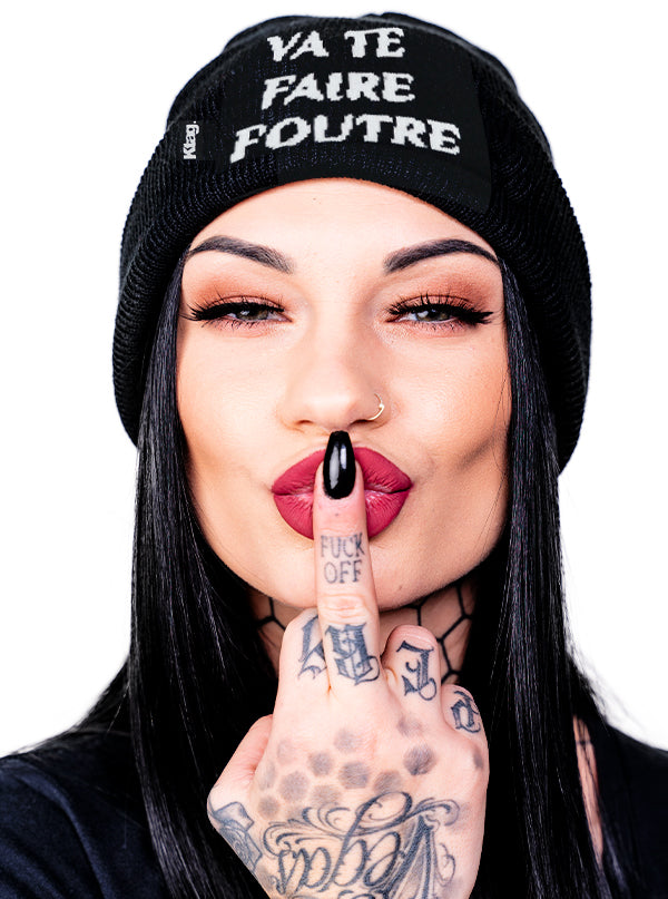 French Go Fuck Yourself Beanie by Ktag