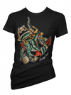 "Women's ""Treasures of the Deep"" Tee by Pinky Star (Black) - www.inkedshop.com"
