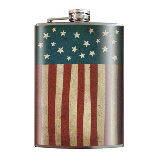 """Old Glory"" Flask by Trixie & Milo - InkedShop - 1"
