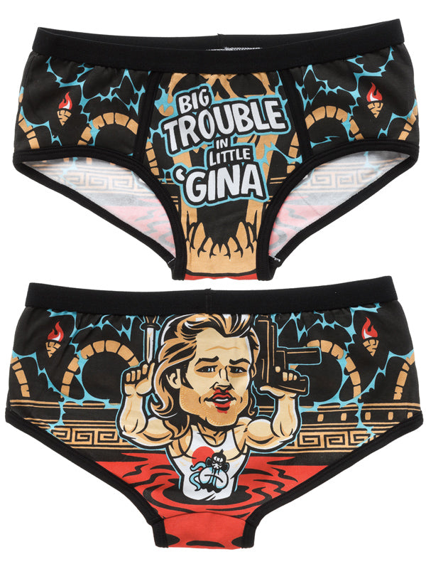 Women's Big Trouble Period Panties by Harebrained!