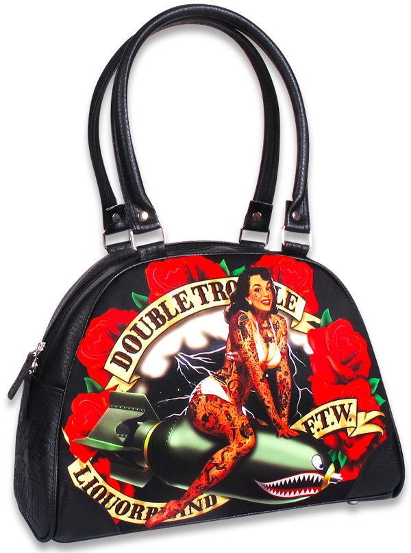 Women's Double Trouble Bowling Bag by Liquorbrand