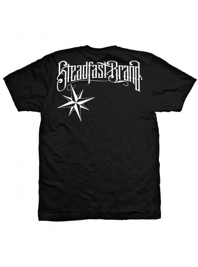 "Men's ""Steadfast Nation"" Tee by Steadfast Brand (Black) - InkedShop - 2"