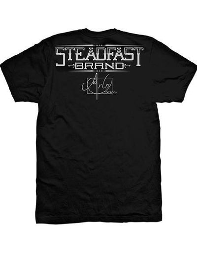 "Men's ""Capone"" Tee by Steadfast Brand (Black) - www.inkedshop.com"
