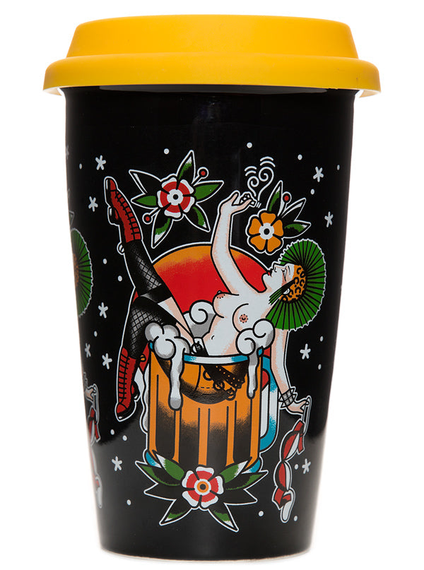 Mans Ruin Tumbler by Sourpuss