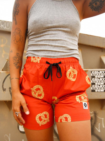 Unisex Don't Get It Twisted Walk Shorts by Pyknic