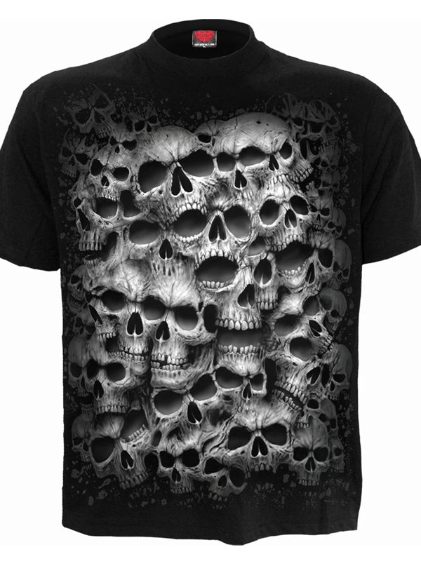 Men's Twisted Skull Tee by Spiral USA