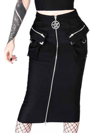 Women's Utility Midi Skirt by Restyle