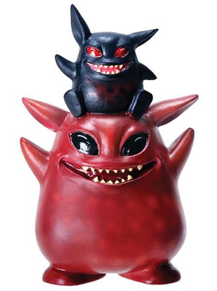 "Underbedz™ ""Umbie And Fitz"" Vinyl Toy by Summit Collection - www.inkedshop.com"
