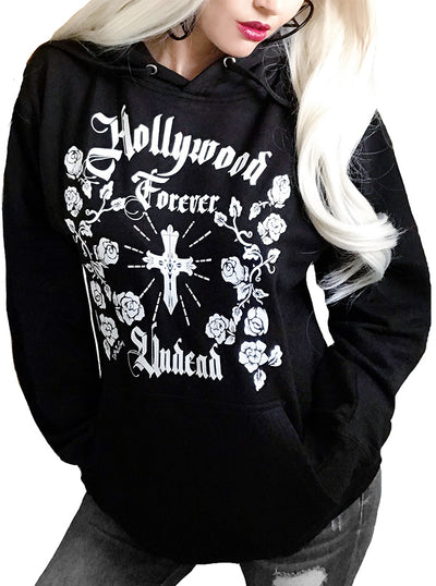 "Women's ""Hollywood Forever"" Hoodie by Demi Loon (More Options)"