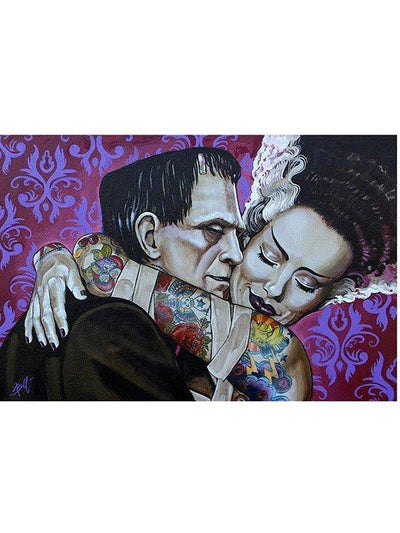 """Undying Love"" Print by Mike Bell for Lowbrow Art Company - www.inkedshop.com"
