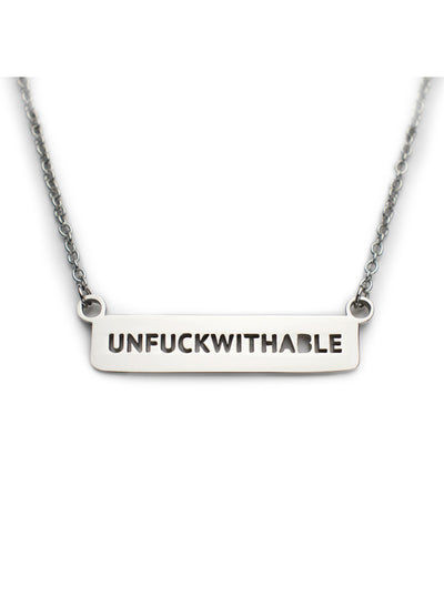 Unfuckwithable Dainty Necklace