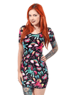 "Women's ""Unicorns"" Bodycon Dress by Liquorbrand (Black) - www.inkedshop.com"