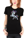 "Women's ""Unibot"" Tee By Skelly & Co (Black)"