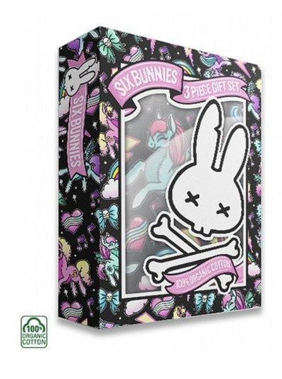 "Baby ""Unicorns"" Gift Set by Six Bunnies (Black) - www.inkedshop.com"