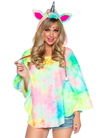 Women's Unicorn Poncho by Leg Avenue