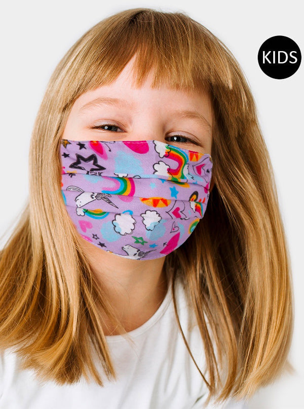Kid's Unicorn Face Mask