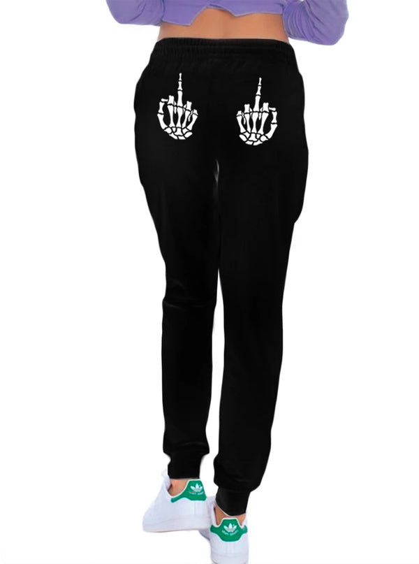 Women's Up Yours Skinny Leg Sweatpants by Too Fast