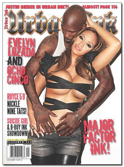 Urban Ink: April 2012 - Chad Ochocinco - www.inkedshop.com